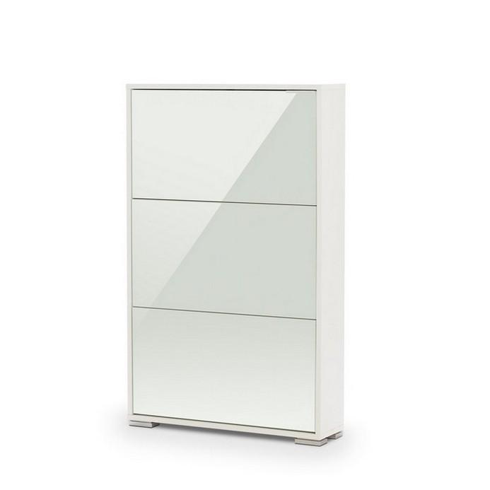 Обувница Vental VIVA 3 LW белый /белый глянец