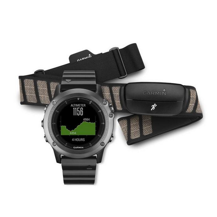 Смарт-часы Garmin Fenix 3 Sapphire Performer HRM