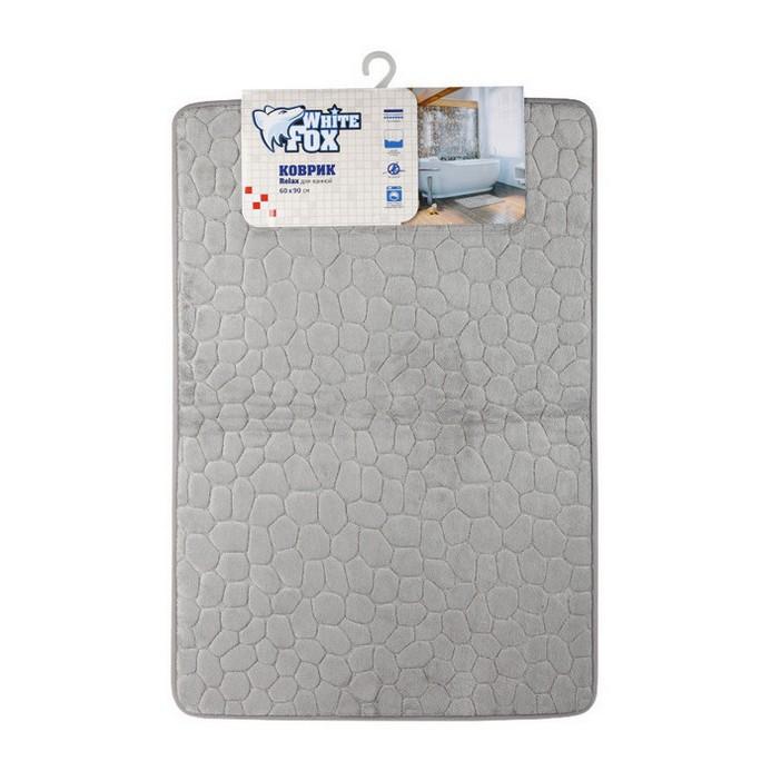 Коврик для ванной White Fox RELAX 60х90см