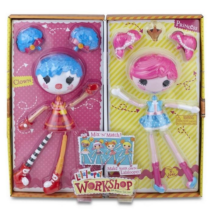 Игровой набор Lalaloopsy Принцесса/ Клоун